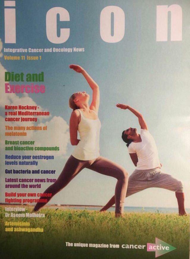 icon magazine, cancer, Integrative cancer treatment, magazine, CANCERactive